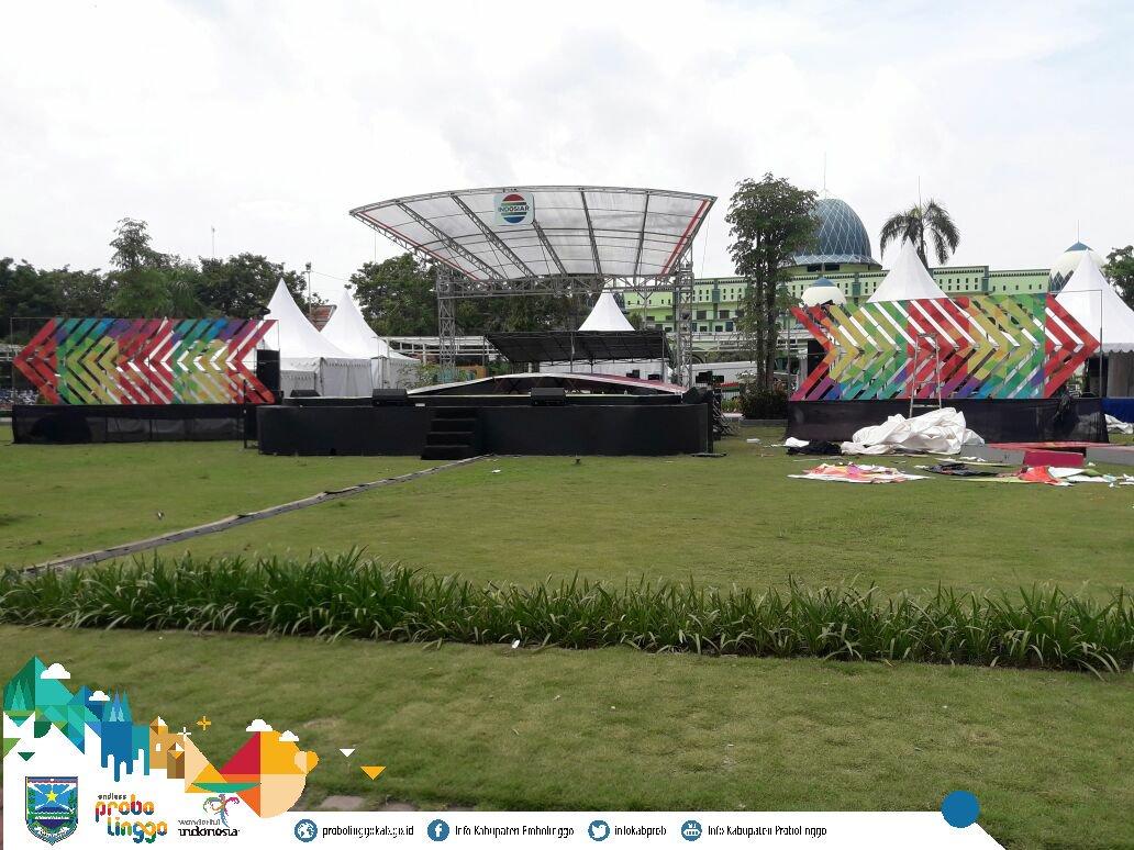 Info Probolinggo Kab Twitter Persiapan Semarak Panggung Gembira Indosiar Live