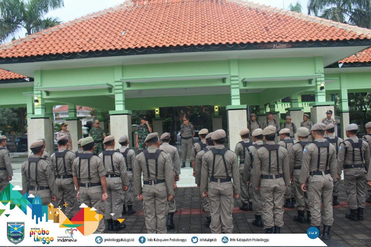 Info Probolinggo Kab Twitter Sedikitnya 347 Personil Satpol Pp Mulai