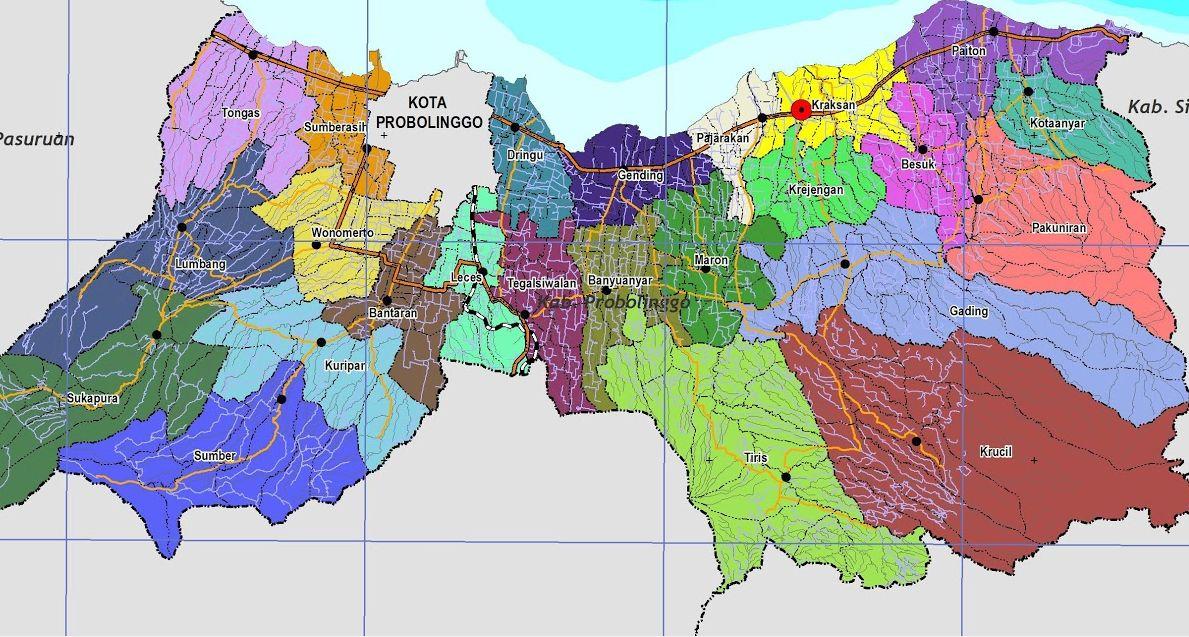 Peta Kabupaten Probolinggo Radar Bromo Berita Pasuruan Alun Kab