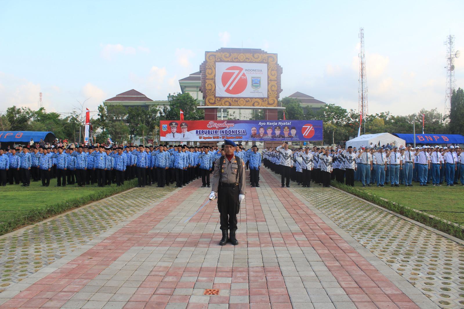 Tribrata News Polres Probolinggo Kapolres Prooblinggo Pimpin Bertindak Sebagai Inspektur