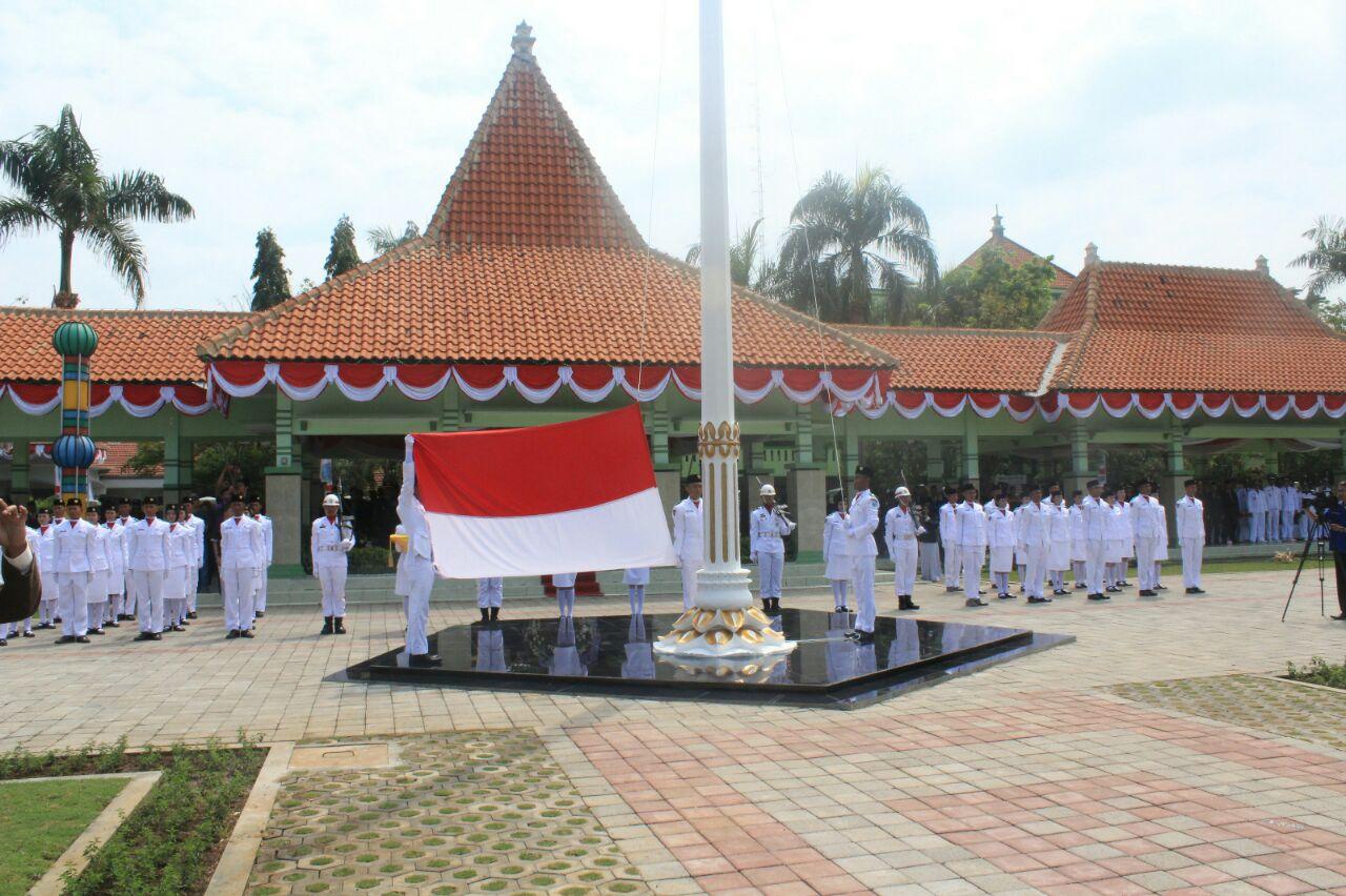 Tribrata News Polres Probolinggo Upacara Detik Proklamasi Hut Kabupaten Ditandai