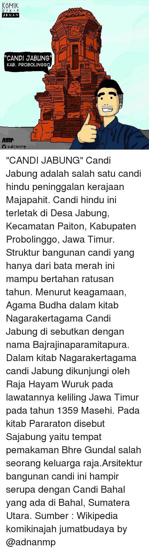 25 Memes Candys Wikipedia Majapahit Komik Stri P Anan Candi