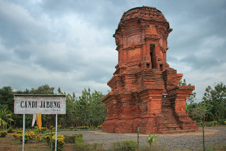 Candi Jabung Bercorak Buddha Probolinggo Jawa Timur Menurut Kitab Negarakertagama