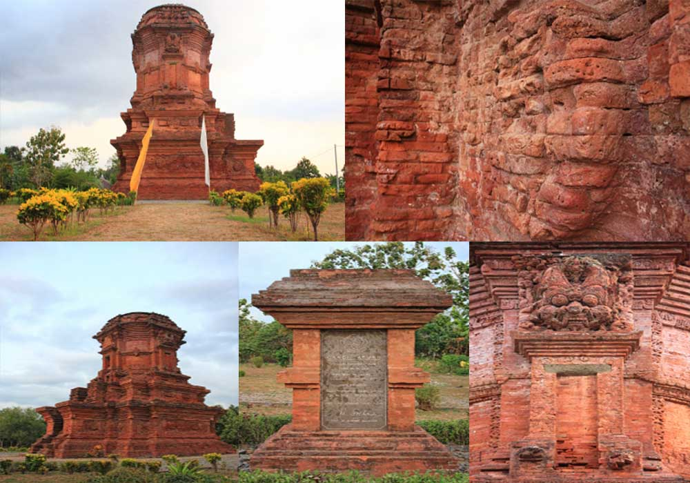 Candi Jabung Bercorak Buddha Probolinggo Jawa Timur Suasana Kab