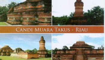 Candi Jabung Probolinggo Hqeem Stamps Muara Takus Riau Kab