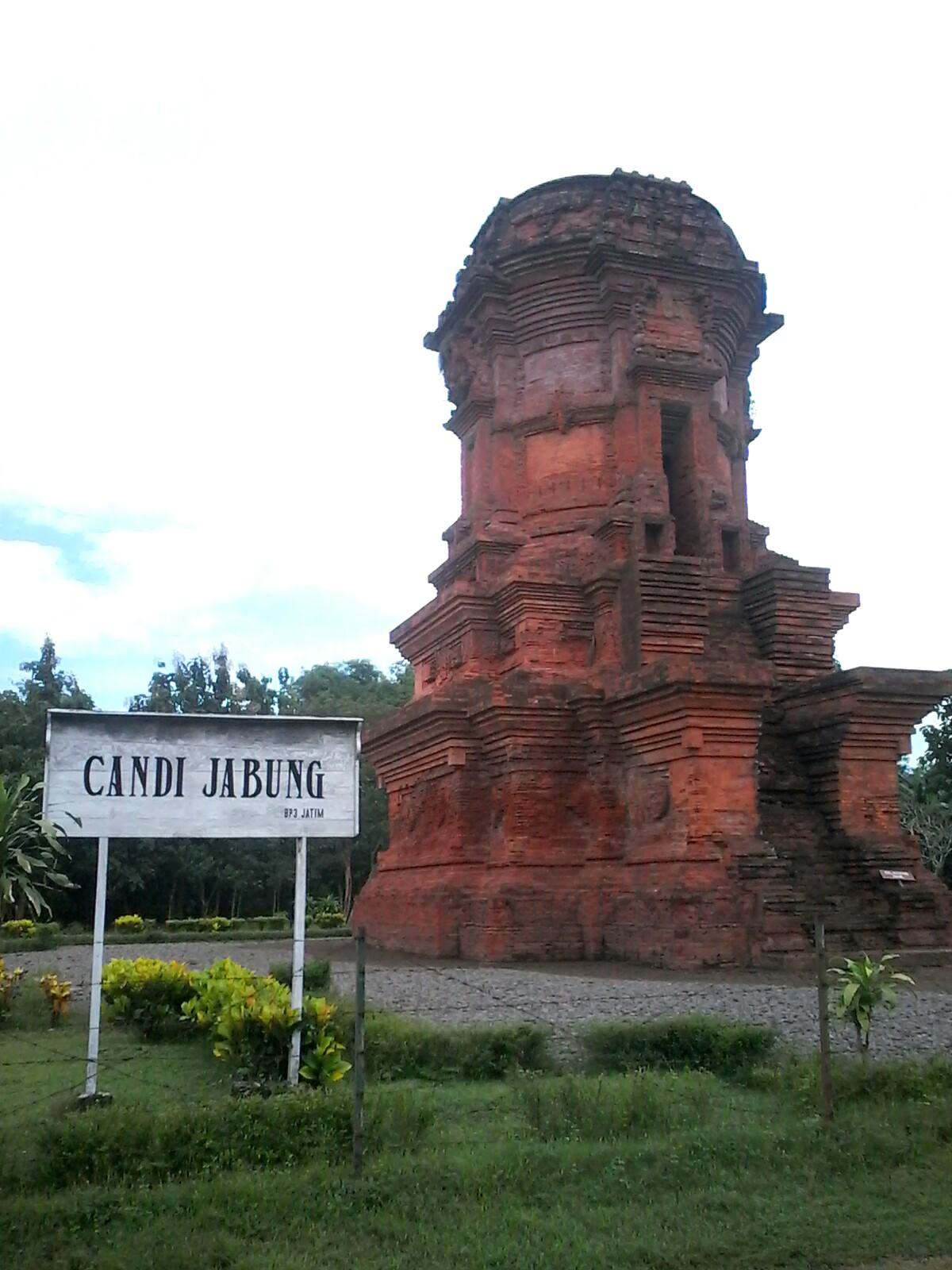 Candi Jabung Selaksa Majapahit Probolinggo Wanderpals Berdiri Area Seluas 35