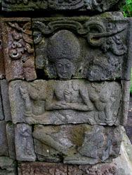 Candi Kedaton Relief Arjuna Wiwaha Kab Probolinggo