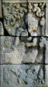 Relief Cerita Candi Kedaton Arjunawiwaha Balai Dewi Supraba Kab Probolinggo