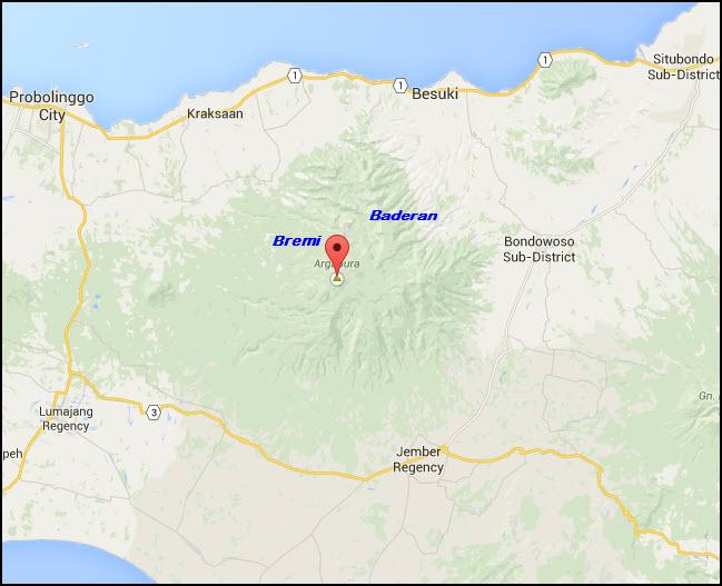 Jalur Pendakian Gunung Argopuro Bremi Google Maps Kab Probolinggo