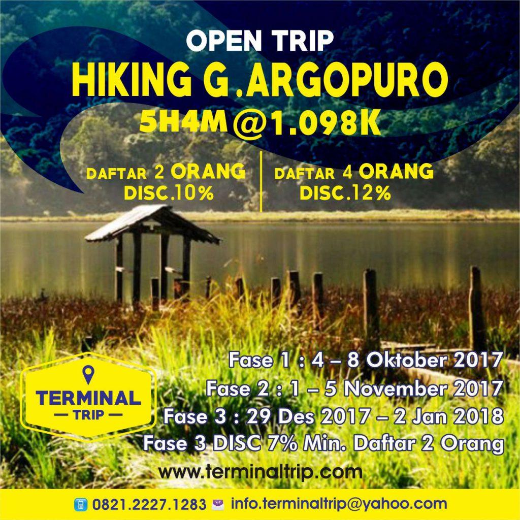 Open Trip Pendakian Gunung Argopuro Terminal Kab Probolinggo