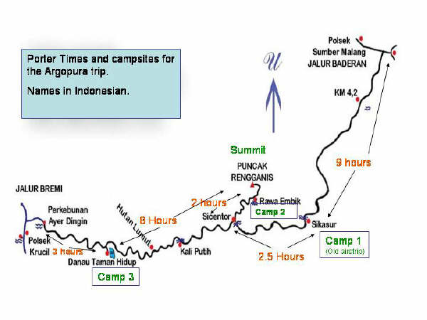Setapak Kecil Gunung Argopuro Kab Probolinggo