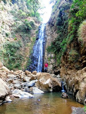 Air Terjun Sumber Pakis Ii Tempat Wisata Letaknya Berdekatan Triban