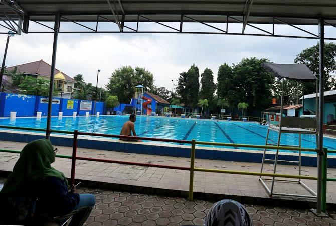 Target Pad Kolam Renang Bayuangga Tra Taman Rekreasi Anak Kab