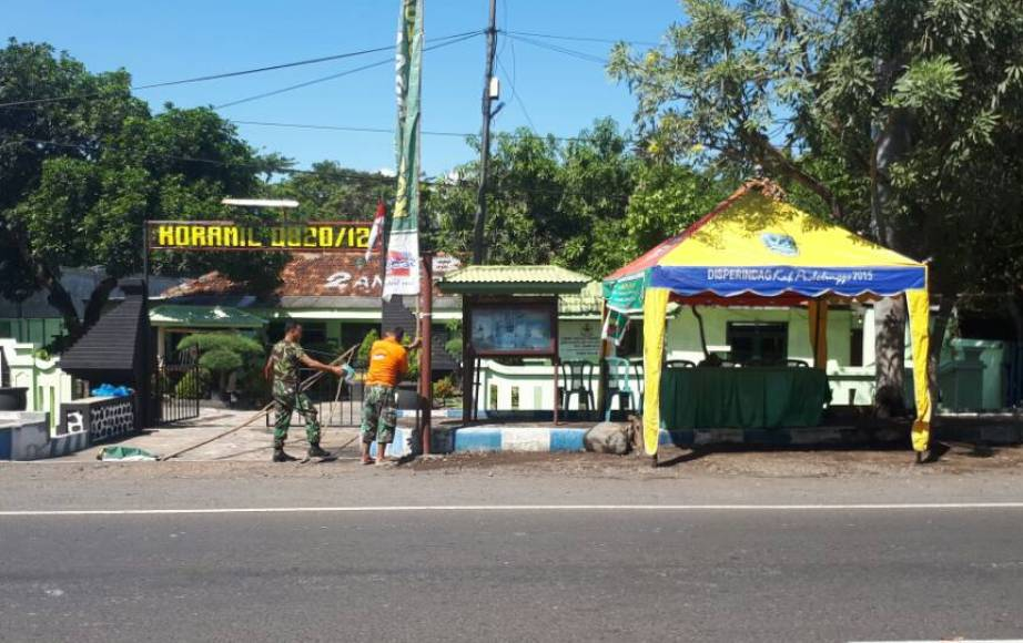 Probolinggo Laman 4 Tegas Jajaran Kodim 0820 Siapkan Rest Area
