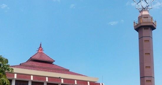 Singgah Masjid Agung Al Ikhlas Wonosari Gunung Kidul Tiban Babbusalam