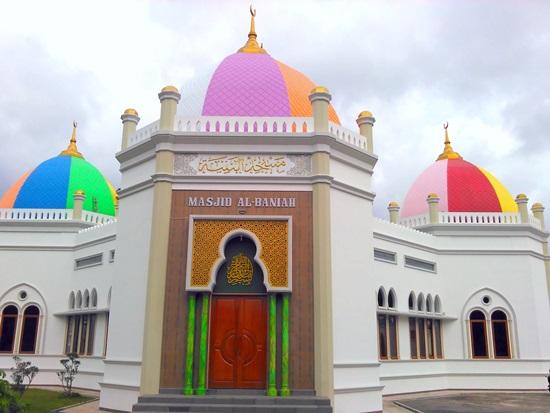 Singgah Masjid January 2018 Kubah Pelangi Al Baniah Ujan Mas