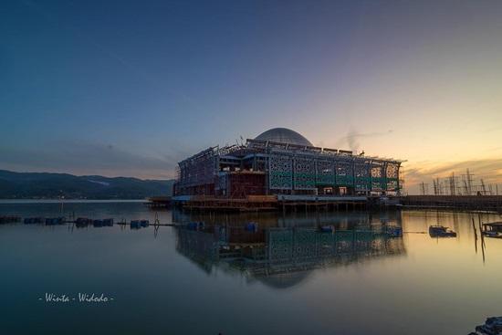 Singgah Masjid Terapung Al Alam Teluk Kendari Tiban Babbusalam Kab