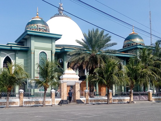 Singgah Masjid Tiban Pangkah Gresik Sisi Depan Timur Jami Ainul