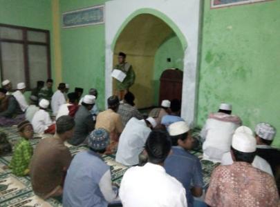 Tegas Wcnu Canangkan Sadar Nu Bulan Ramadhan Masjid Tiban Babbusalam