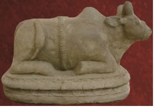 Koleksi Arkeologi Museum Kota Probolinggo Arca Nandi Musium Dr Mohammad