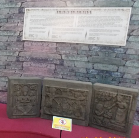 Koleksi Arkeologi Museum Kota Probolinggo Relief Arjuna Wiwaha Musium Dr
