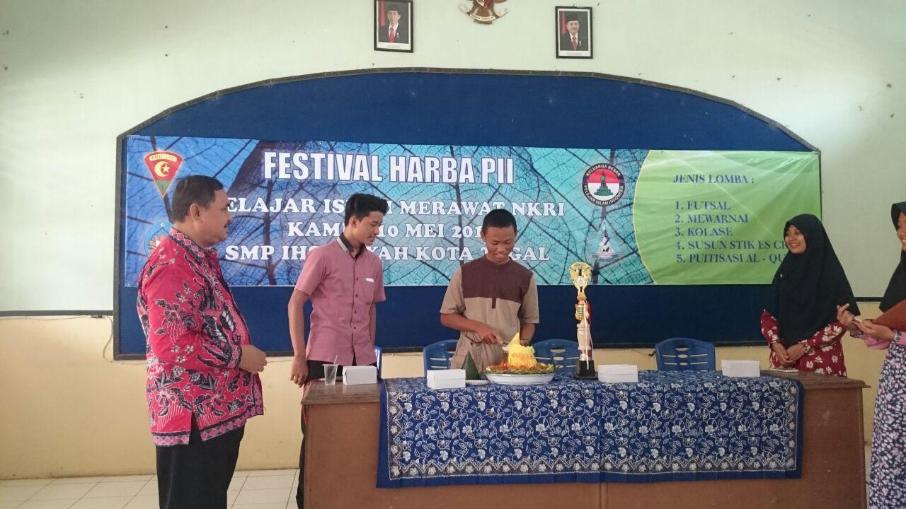 Ratusan Kader Tunas Pii Tegal Ramaikan Festival Harba 71 Musium