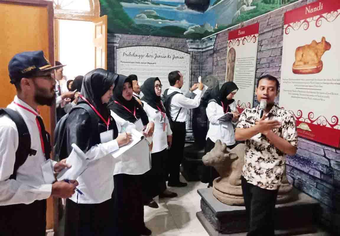 Bkd Kab Probolinggo Peserta Diklai Pim Iv 175 Visitasi Museum