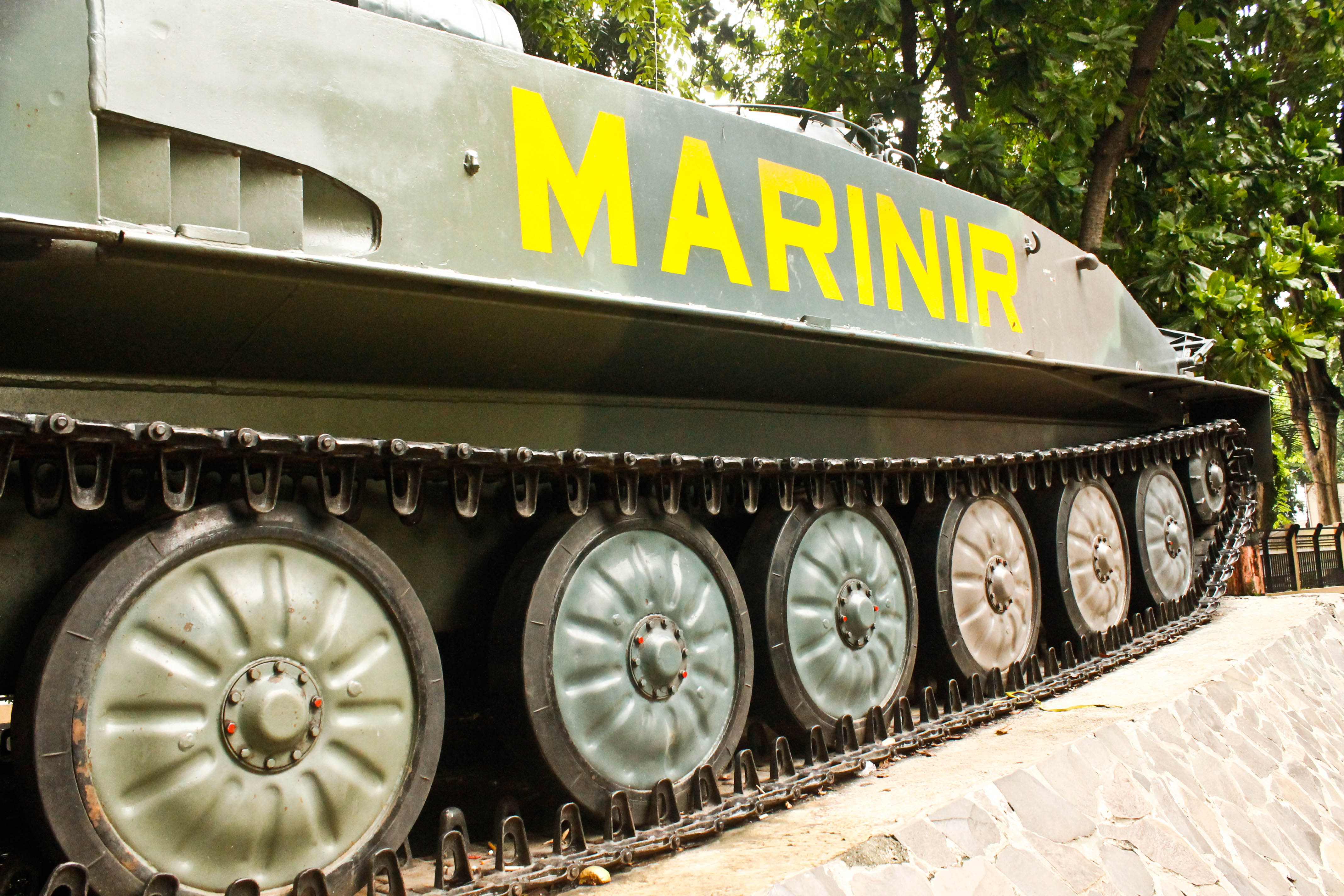 Museum Kota Probolinggo Monochromatic Conservative Rebel Salah Satu Pengunjung Tank