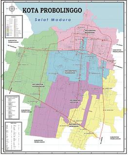 Peta Kota Probolinggo Asalngeblog Pinterest Musium Kab