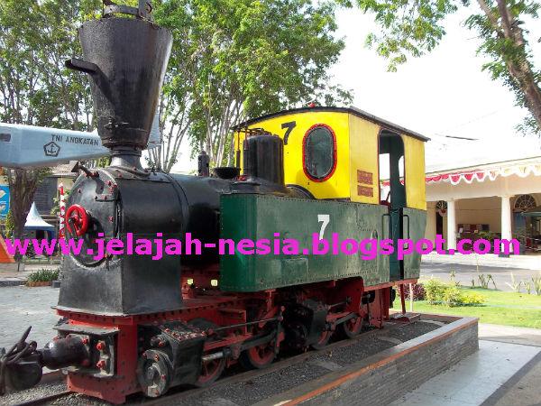 Www Jelajah Nesia Blogspot Lokomotif Kuno Museum Probolinggo Musium Kab