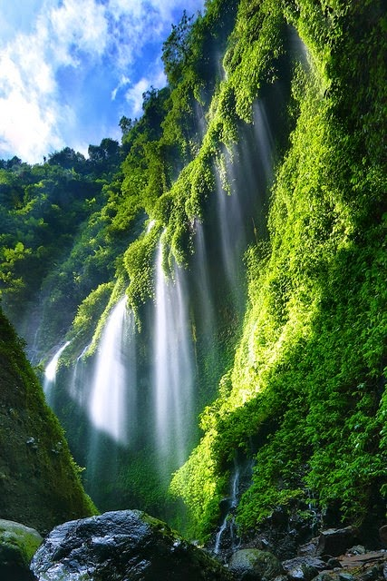 Nature World Air Terjun Madakaripura Jawa Timur Memasuki Kabupaten Probolinggo
