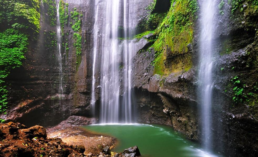 Pesona Air Terjun Madakaripura Kaki Gunung Bromo Jawa Timur Taman