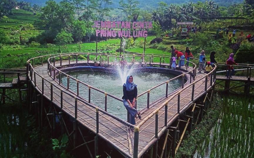 20 Tempat Wisata Terbaru Purbalingga Hits Dikunjungi Jembatan Cinta Pring