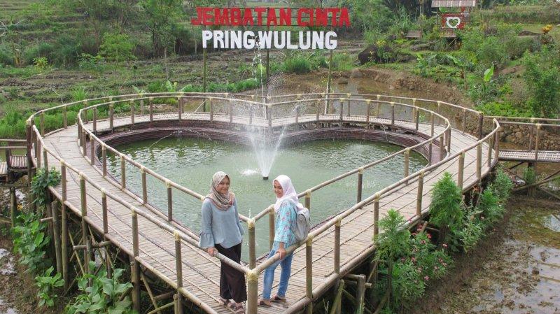 Jembatan Cinta Bakal Tambah Wahana Satelitpost Pring Wulung Kab Purbalingga