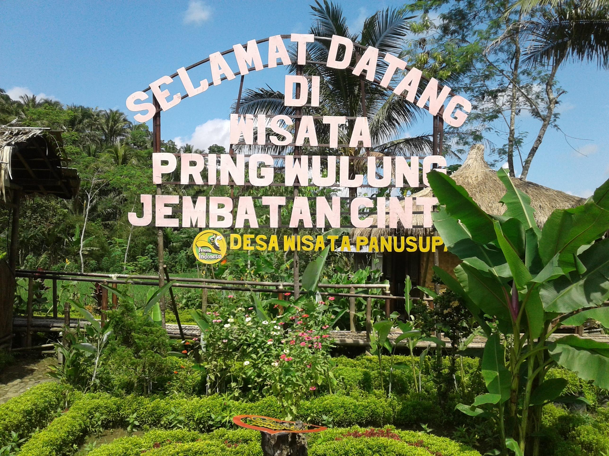 Jembatan Cinta Pring Wulung Destinasi Epic Purbalingga Selamat Datang Kab