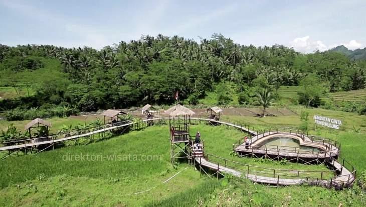 Jembatan Cinta Pring Wulung Panusupan Purbalingga Direktori Wisata Kab