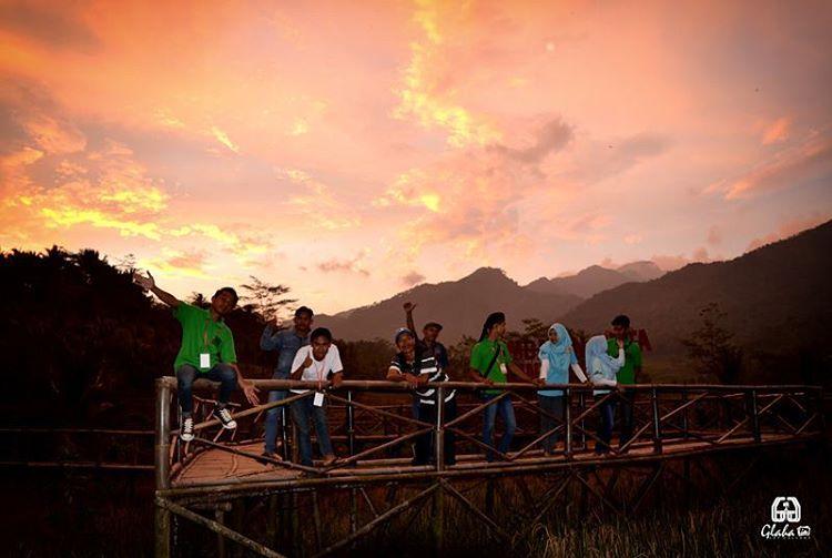 Jembatan Cinta Pring Wulung Wisata Kekinian Purbalingga Reresepan Kab