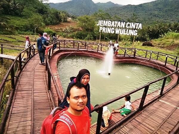 Jembatan Cinta Purbalingga Jomblo Datang Kok Foto Selfie Pringwulung Pring