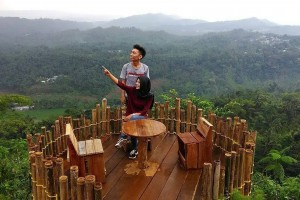 Pesona Jembatan Cinta Desa Wisata Panusupan Wajib Dikunjungi Pojok Khayangan