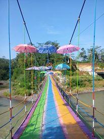 Wisata Alam Kecamatan Rembang Purbalingga Jateng Kejauhan Terdengar Riuh Pejalan