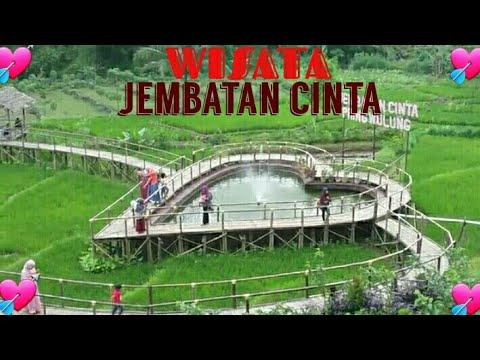 Wisata Jembatan Cinta Pring Wulung Desa Tipar Youtube Kab Purbalingga