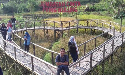 Desa Wisata Rembang Kabupaten Purbalingga Kilas Kita Hits Jembatan Cinta