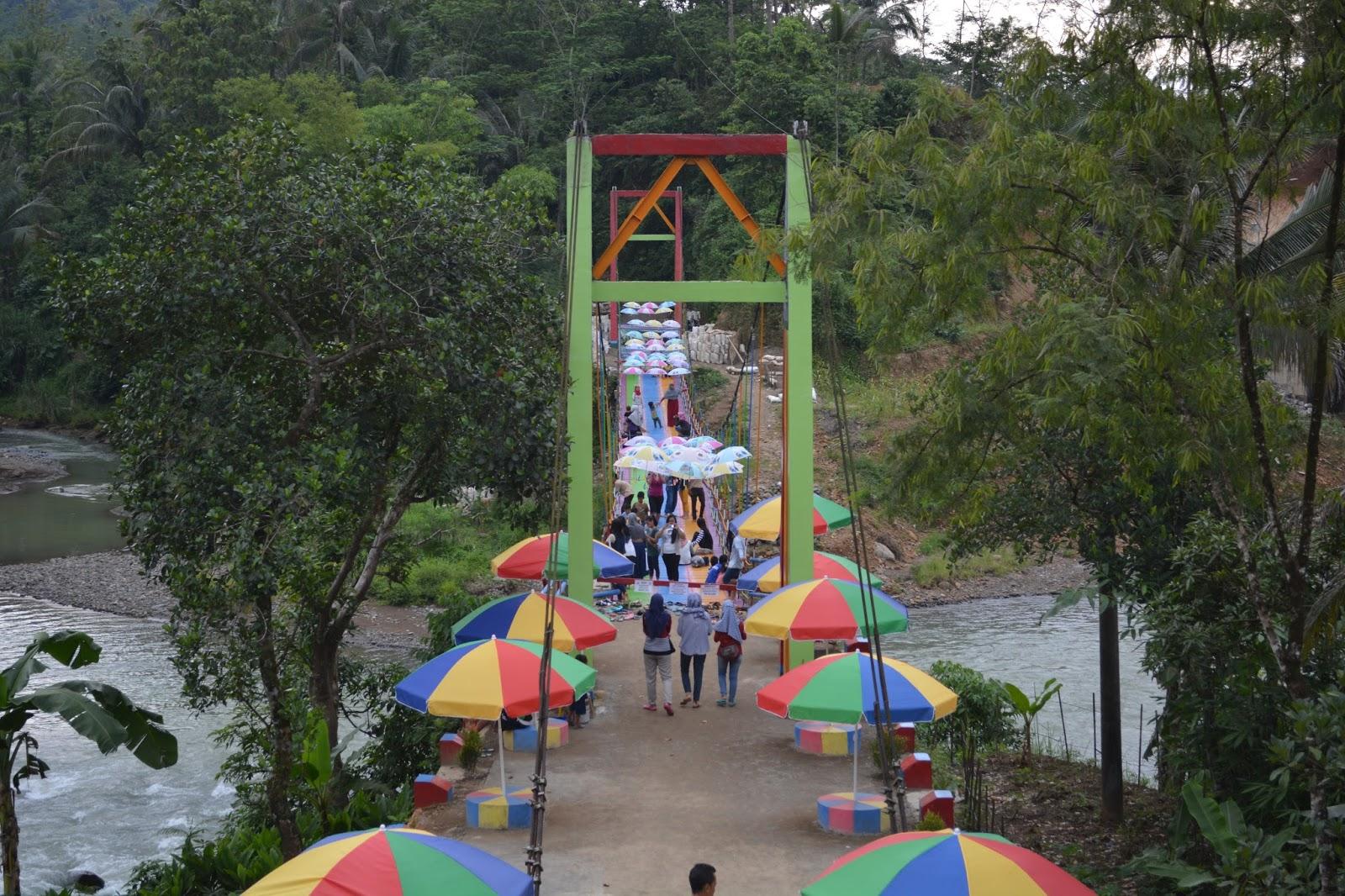 Jembatan Pelangi Kab Purbalingga