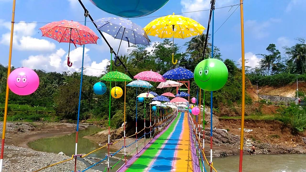 Jembatan Pelangi Rembang Pbg Youtube Kab Purbalingga
