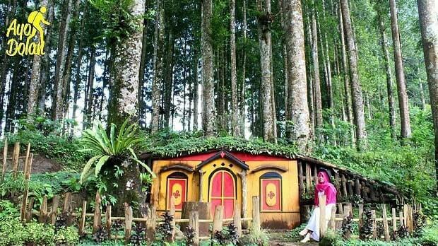 Kampung Kurcaci Purbalingga Wisata Ngehits Kota Perwira Kab