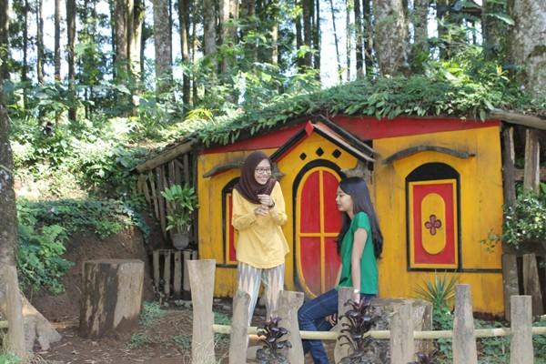 Wisata Kampung Kurcaci Destinasi Alternatif Purbalingga Antara Kab