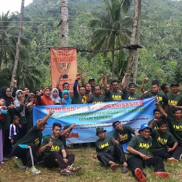 Desa Wisata Panusupan Surga Nyata Kabupaten Purbalingga Outbond Wanatirta Pojok