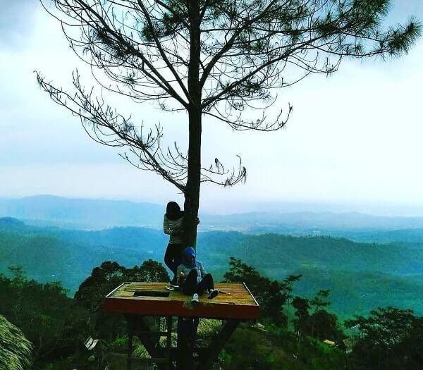 Desa Wisata Panusupan Surga Nyata Kabupaten Purbalingga Puncak Batur Pojok
