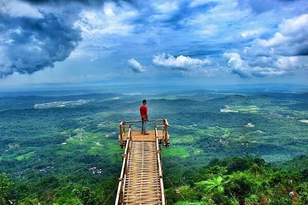 Desa Wisata Panusupan Surga Nyata Kabupaten Purbalingga Puncak Sendaren Pojok