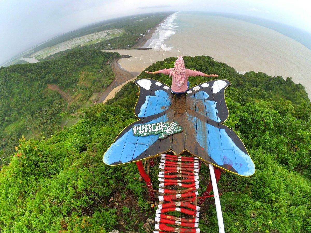 Lokasi Rute Menuju Bukit Hud Wisatamy Kebumen Pojok Kayangan Kab